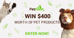 Win $400 Worth of Pet Products from The Pet Room