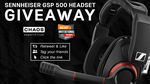 Win a Sennheiser GSP 500 Gaming Headset Worth $369.95 from Beat Gaming Corp