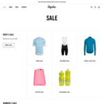 Up to 60% off Cycling Clothing and Accessories, Free Shipping over $150 @ Rapha