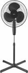 Lectro 40cm Black Pedestal Fan $14.90 (Was $21) @ Bunnings