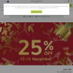25% off Sitewide @ Marks & Spencer