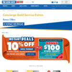 Bonus $100 Store Credit When You Spend over $500 on Samsung Products @ The Good Guys (Concierge Membership Required)