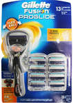 Gillette Fusion Proglide Flex Ball Razor with 13 Cartridges Set $26 + Delivery (Free with Shipster) @ Kogan