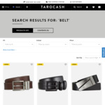 Genuine Leather Belts from $6.99 (Pick up in Store) @ Tarocash (Sizes Limited)