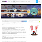 4 Hour Melbourne Showboat Cruise - Departs Docklands Incl Live Blues Bands $8.95 for 2 Tickets (Save over $80) @ Promotix