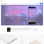 Free Pixel Stand ($119) with Purchase of Google Pixel 3/3XL Just Black via Google Store