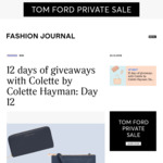 Win 1 of 12 Colette by Colette Hayman Prize Packs from Fashion Journal