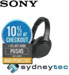 Sony WH-1000XM3 Noise Cancelling Headphones $350.76 Delivered @ Sydneytec eBay