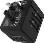 10% off International Travel Adapter $17.99 (10% off) + Delivery (Free with Prime/ $49 Spend) @ Jollyfit Amazon AU