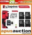 [eBay Plus] Samsung 64GB Evo+ Micro SD $14.95, Kingston 64GB $12, 256GB $59.95 Delivered @ Apus Auction eBay