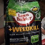 [SA] Scotts Lawn Builder Fertiliser + Weedkill 2.5kg $5 @ Bunnings (Marion)