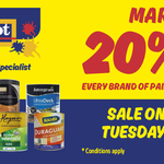 [VIC] Labour Day Sale: 20% off  Paint, Decking Oil & Wood Stain @ Paint Spot