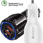 Quick Charge 3.0 Dual USB Port USB Car Charger US $2.02 (~AU $3.23) Inc GST Delivered @ Tellunow AliExpress