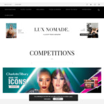 Win a Samsonite Cosmolite 75cm Spinner ($915.00 AUD) from Lux Nomade