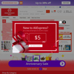 US $5 off US $10 Spend [hack] @ AliExpress