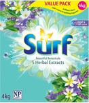 Surf Herbals Washing Powder, 3x 4kg for $17.99 + Shipping ($0 with Prime or $49 Spend) @ Amazon AU
