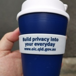 [QLD] Free Reusable Coffee Cup & Webcam Cover at Central Station
