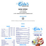 [QLD] Free Fish & Chips @ Costa's Seafood Cafe, Cabalaba