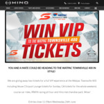Win VIP Tickets to The Supercars Townsville 400 for You and a Mate from Hino