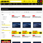 10% off Apple MacBook and Apple iMac Range (Some Exclusions) @ JB Hi-Fi