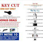 [QLD] House Keys Cut for $1ea (Limit 5) Monday 8 July @ City Mitre 10, Brisbane CBD