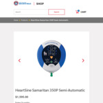 HeartSine Samaritan 350P Semi-Auto AED Defibrillator $1595 Delivered @ Surf Life Saving NSW