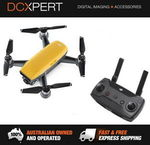 DJI Spark & Remote Control Combo – Alpine White or Yellow $439.20 Delivered @ DCXpert eBay