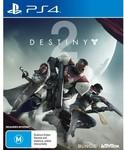 [PS4] Destiny 2 $5 + Delivery (Free C&C) @ Harvey Norman