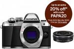 Olympus OM-D E-M10 Mark II Mirrorless Camera + 14-42mm Lens Kit Silver $439.20 Delivered @ Camera Store eBay