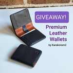 Luxury Men's Wallet Giveaway by Karakoram2