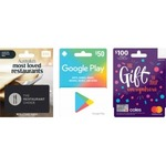 2000 Flybuys Points (Worth $10) with Purchase of $50 Google Play or $100* Coles Mastercard Gift Cards @ Coles In-Store
