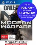 COD: Modern Warfare 2019 $58.65 (Expired), Switch Lite $279.65, Luigi's Mansion 3 $60.31 Delivered + More @ The Gamesmen eBay