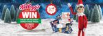 Kelloggs - Win an Elf on The Shelf Family Prize Package Valued at $165 (684 Available)