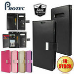 GOOSPERY Synthetic Leather Wallet Phone Case (For Samsung S10, Note 10 Plus, S9, A8, J8, XS Max) $4.99 Delivered @ Protec eBay