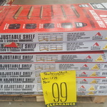 [NSW] Pinnacle 6 Tier Adjustable Shelving $99 at Bunnings, Villawood