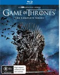 [Pre Order] Game of Thrones: Seasons 1-8 Box Set Blu-Ray $180, DVD $160 + $3.90 Delivery @ BIG W