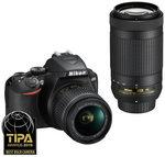 Nikon D3500 Twin Kit Lens $649, Panasonic G7 Twin Kit Lens $737 + $50 EFTPOS Card @ Digital Camera Warehouse
