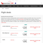 Qantas Christmas Sale: Sydney/Melbourne to London $1219, Sydney/Melbourne to Milan $1393 (Economy Return Flights)