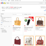 Assorted Women's Handbags - 3 for $14.25 + Delivery ($0 with eBay Plus) @ Shopping Square eBay