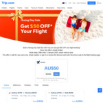 Boxing Day Sale: Get $50 off Flights ($500 Min Spend, New Users) with Trip.com