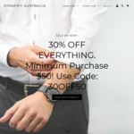 40% off Storewide + 10% Donation + Free Ship - from $7.17 (Min Spend $25) @ Strapify