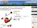 $279.95 450km/h Blower + 51cc Brush Cutter Garden Pack w Free Shipping