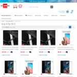 8x Nuglas Glass Screen Protector for iPhone $16.84, 4x Nuglas Glass Screen Protector 3D Samsung $16.84 Del @ Shopping Square