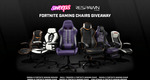 Win 1 of 6 Fortnite Gaming Chairs from Respawn