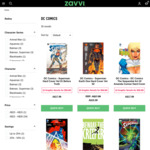 10 Graphic Novels (DC Comics) $59.99 + $7.49 Delivery @ Zavvi