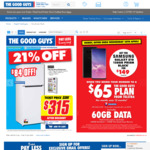 Samsung Galaxy S10 128gb $149 Upfront with 12 Month $65/m Telstra Plan @ The Good Guys (Port-In Required, In-Store Only)