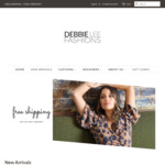 Free Postage on all Orders @ Debbie Lee Fashions