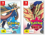 [Switch] Pokémon Sword + Pokémon Shield $116.41 Delivered @ The Gamesmen eBay