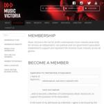 Free 1 Year Membership @ Music Victoria