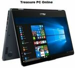 "[Refurb] Asus VivoBook Flip Laptop 14"" Touch (i7 8550U/8GB/512GB SSD/Win10) $1,079.10 @ Treasure PC eBay"